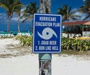 Hurricane Evac Plan