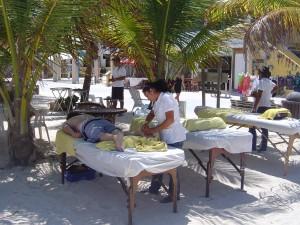 massage tables palms