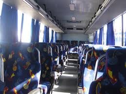 inisde Myaba bus