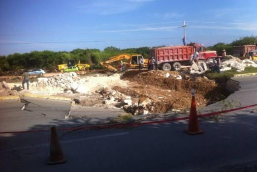 highway 307 repair progress